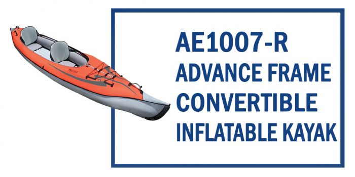 Ae1007-R Advancedframe Convertible Inflatable Kayak