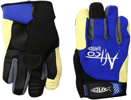 AFTCO Bluefever Utility Fishing Gloves