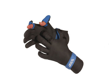 Glacier Neoprene Slit Fingerless Gloves