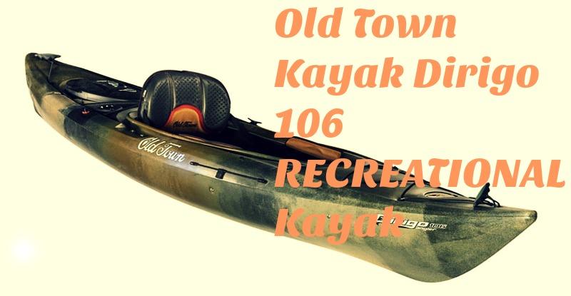 Old Town Kayak Dirigo